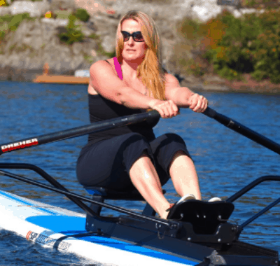Rowing The World - Diana Lesiur