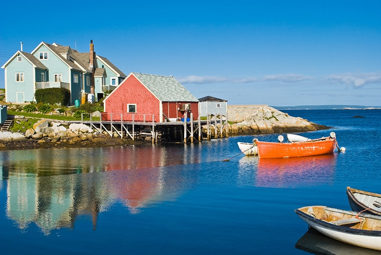 Canada: Prince Edward Island & Nova Scotia - Rowing The World & The