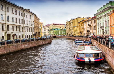 Rowing The World - St Petersburg - Russia
