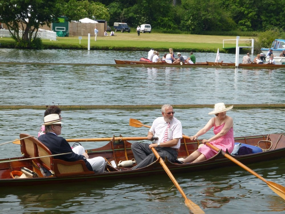 Double coxed double at Royal Henley Regatta
