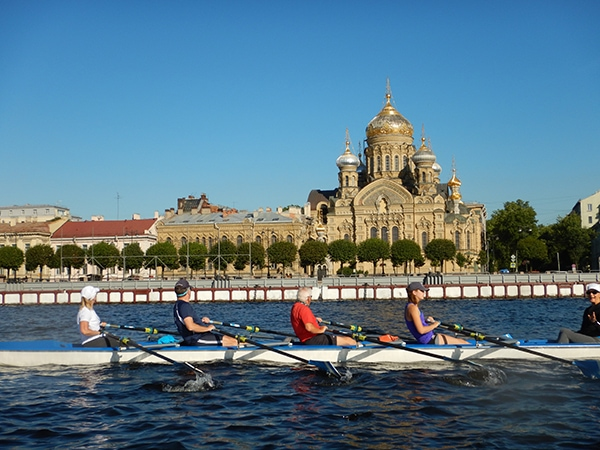 rowing tour training program Russia