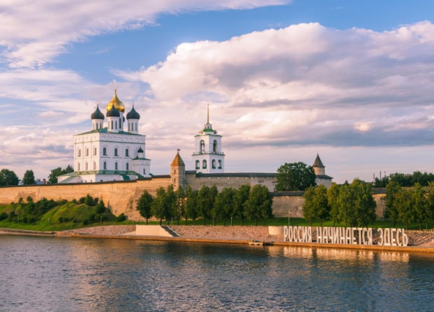 Rowing The World - St Petersburg & Novgorod, Russia