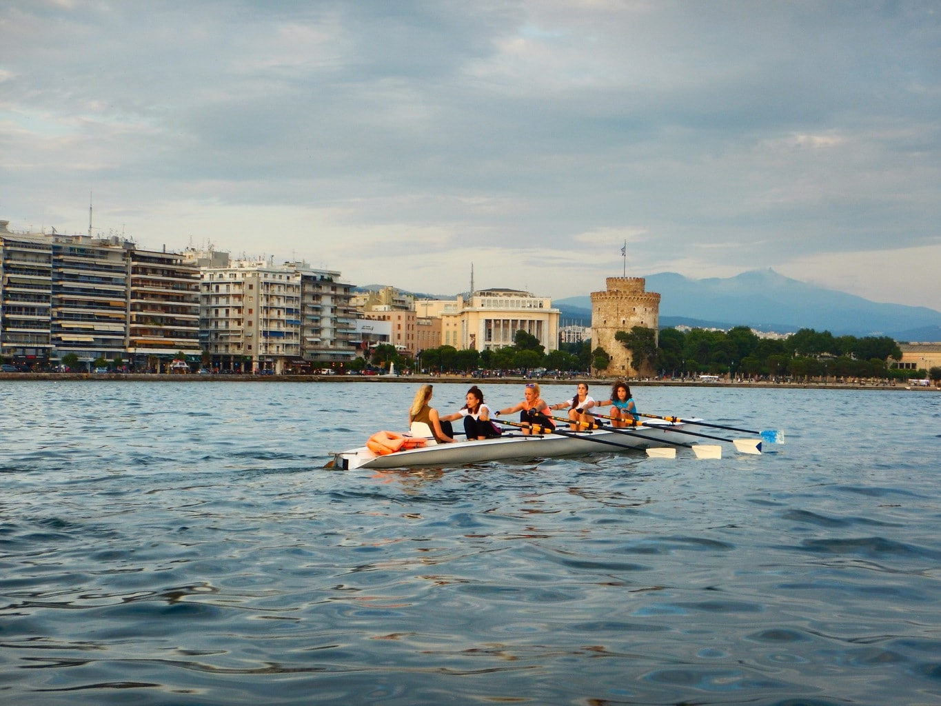 rowing tour preparation in Greece