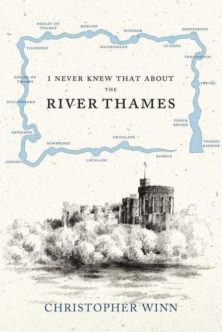 Many books about the Thames, including Christoper Winn's book, have inspired rowers and travellers alike.