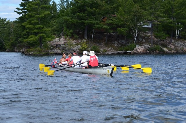 rowing tours Canada