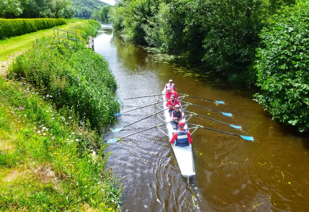 Rowing The World offers trips on the river Barrow