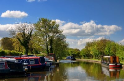 Rowing The World - Lancaster Canal Galgate